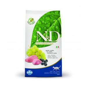 Farmina N&D Lamb & Bluberry adult Cat сухой беззерновой корм для кошек с ягненком и черникой 10 кг