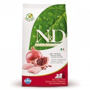 Farmina N&D Small & Medium Puppy беззерновой сухой корм для щенков мелких и средних пород