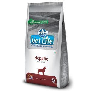 Farmina Vet Life Hepatic диетический сухой корм для собак с заболеваниями печени 12 кг