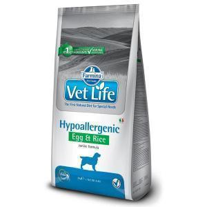 Farmina Vet Life Hypoallergenic Egg & Rice диетический сухой корм с яйцом и рисом для собак с пищевой аллергией 12 кг