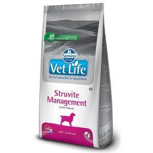 Farmina Vet Life Struvite Management диетический сухой корм для профилактики и лечения струвитного уролитиаза у собак 12 кг