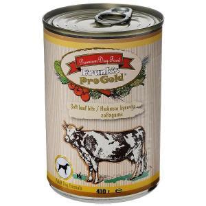 Frank's Progold Soft beef bits Dog Recipe влажный корм для собак с говядиной 410 г
