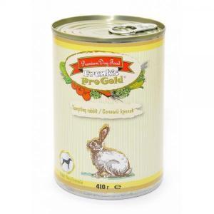 Frank's Progold Tempting rabbit Dog Recipe влажный корм для собак с кроликом 410 г