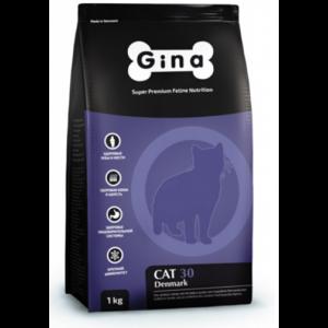 Gina Cat 30 сухой корм для кошек с нормальным уровнем активности с курицей 18 кг