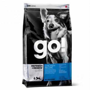 Go! Natural для щенков и собак сухой корм с цельной курицей, фруктами и овощами