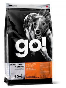 Go! Natural для щенков и собак сухой корм с лососем и овсянкой