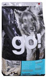 Go! Natural Holistic беззерновой сухой корм для щенков и собак 4 вида мяса