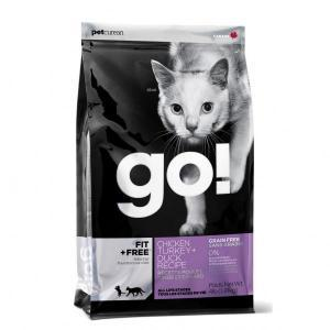 Go! Natural Holistic Fit Grain Free Cat беззерновой сухой корм для кошек 4 вида мяса