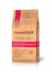 Grandorf Sensitive Care Lamb & Rice Adult Medium Breed сухой корм с ягненком для собак средних пород