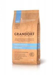 Grandorf Sensitive Care White Fish & Rice сухой корм с белой рыбой и рисом для собак