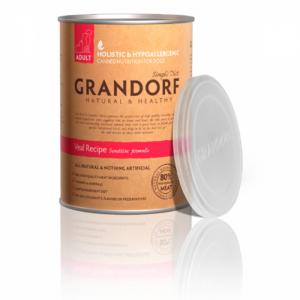 Grandorf Veal консервы для собак с телятиной 400 г