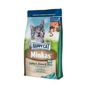 Happy Cat Minkas Mix сухой корм для кошек 10 кг