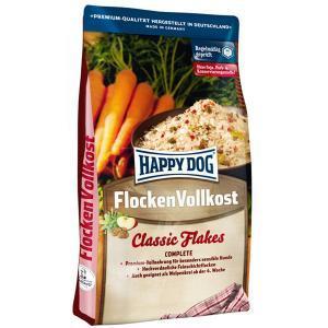 Happy Dog FlockenVollkost Classic Flakes сухой корм для собак в форме супа 10 кг