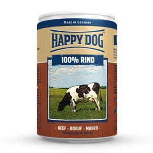 Happy Dog консервы для собак Говядина 100% мясо 400 г