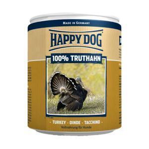 Happy Dog консервы для собак Индейка 100% мясо 400 г