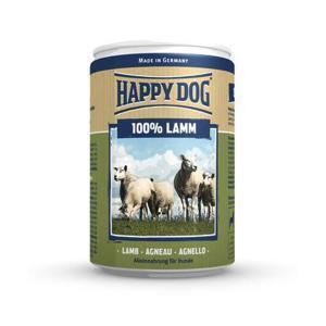 Happy Dog консервы для собак Ягнеок 100% мясо 400 г