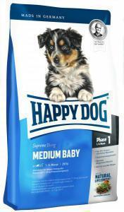 Happy Dog Medium Baby сухой корм для щенков средних пород до 6 месяцев 10 кг