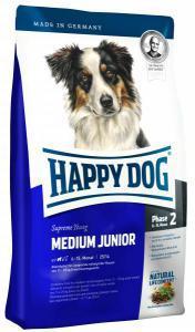 Happy Dog Medium Junior сухой корм для щенков средних пород 6-15 месяцев 10 кг