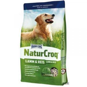 Happy Dog NaturCroq Lamb & Rice сухой корм для собак с ягненком и рисом