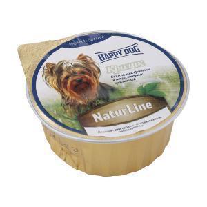 Happy Dog паштет для собак с кроликом 125 г (16 штук)