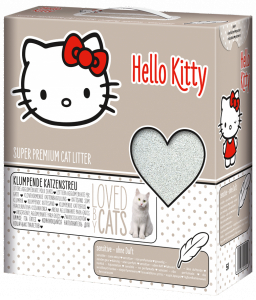Hello Kitty Sensitive наполнитель для кошачьего туалета без аромата