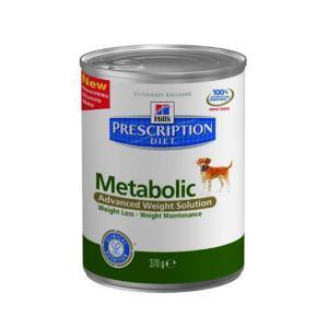 Hills Canine Metabolic консервы для собак Профилактика ожирения 370 г