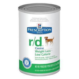 Hills Canine r/d лечебные консервы для собак при ожирении 370 г