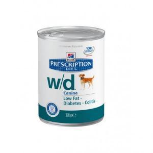 Hills Canine w/d лечебные консервы для собак, склонных к лишнему весу 370 г