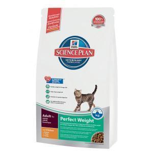 HILL'S Feline Adult Perfect Weight сухой корм для кошек, склонных к полноте 8 кг