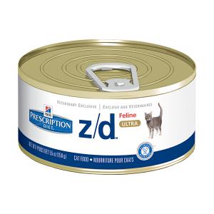 Hills Feline z/d лечебные консервы для кошек при острой пищевой аллергии 156 г
