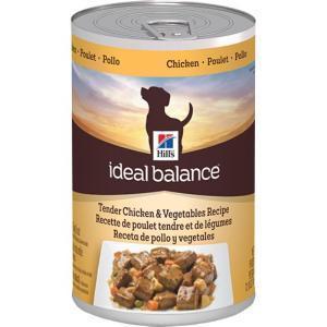 Hill's Ideal Balance Chicken & Vegetables консервы для собак с курицей и овощами 363 г