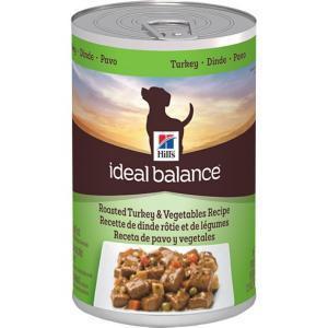 Hill's Ideal Balance Turkey & Vegetables консервы для собак с индейкой и овощами 363 г