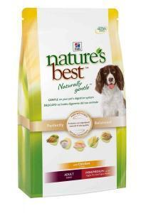 HILL'S NB Adult Mini/medium сухой корм с курицей и овощами для собак средних и мелких пород 12 кг