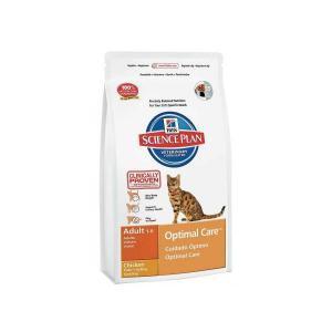 Hill's Science Plan Feline Adult Optimal Care Chicken сухой корм для кошек с курицей
