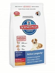 HILL'S SP Canine Mature/Senior сухой корм с курицей для пожилых собак 12 кг