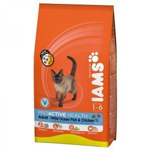 IAMS Cat Adult Rich in Chicken сухой корм для кошек с курицей