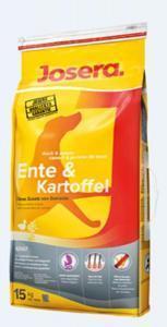 Josera Ente & Kartoffel сухой корм с уткой и картофелем для собак 15 кг