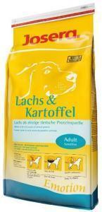 Josera Lachs & Kartoffel сухой корм для собак с лососем и картофелем 15 кг