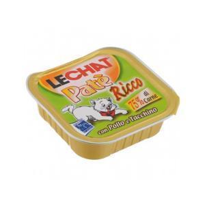 Lechat консервы для кошек с курицей и индейкой 100 г (32 штуки)