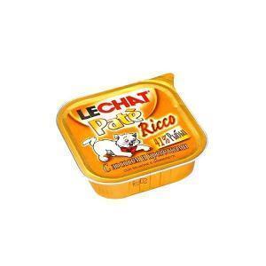 Lechat консервы для кошек с лососем и креветками 100 г (32 штуки)