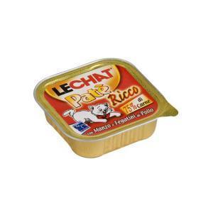 Lechat консервы для кошек с мясом и куриной печенью 100 г (32 штуки)