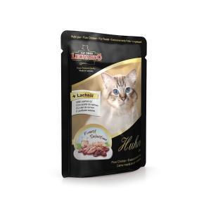 Leonardo Huhn Pur консервы для кошек с курицей и субпродуктами 85 г