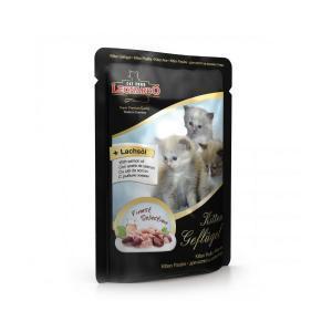 Leonardo kitten консервы для котят 85гр х 16шт
