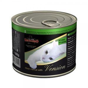 Leonardo консервы для кошек с мясом и дичью