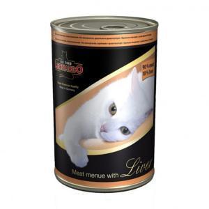 Leonardo консервы для кошек с мясом и печенью