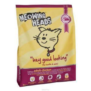 Meowing Heads Hey Good Looking сухой корм для кошек с курицей