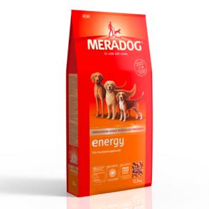 MeraDog Energy сухой корм для собак с высокой активностью 12,5 кг