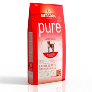 MeraDog Pure Salmon сухой корм для собак Лосось с рисом 12,5 кг