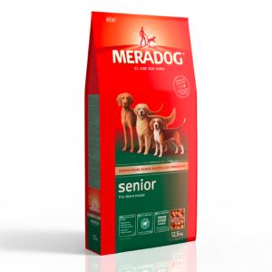 MeraDog Senior сухой корм для стареющих собак 12,5 кг