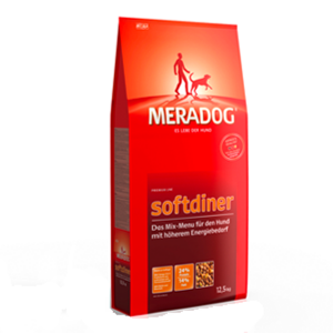 MeraDog Softdiner сухой корм (суп) для привередливых собак 12,5 кг